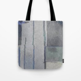 Blues and Grays Tote Bag
