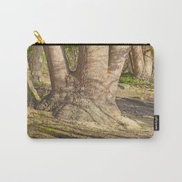 Long Shadows in an Enchanted Madrona Forest Carry-All Pouch
