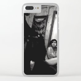 Katie Tatiana Dowell With Patrick Rogers Clear iPhone Case
