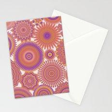 Kaleidoscopic-Fiesta colorway Stationery Cards