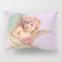 Victorian Moon Angel Pillow Sham
