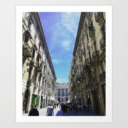 Turin in May Art Print