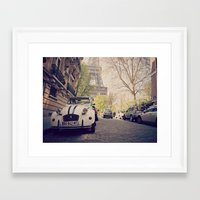 french Framed Art Prints featuring French  by FlavioSarescia