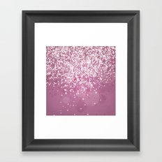 Glitteresques IV:III Framed Art Print