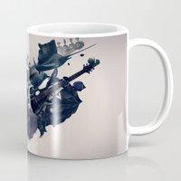 guitar Mugs featuring guitar by Tanya_tk