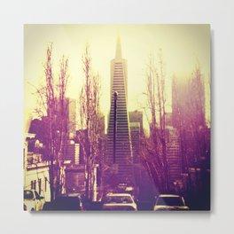 Pyramid Building San Francisco Metal Print
