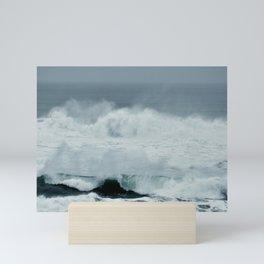 POWERFUL PACIFIC OCEAN Mini Art Print
