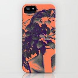 BehindPlant. iPhone Case