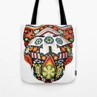 jaguar Tote Bags featuring Jaguar by Jaramillo Velez