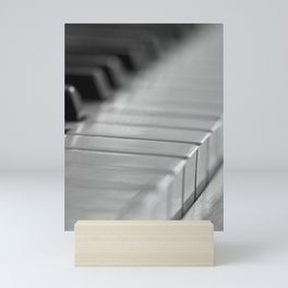 Piano keys Mini Art Print