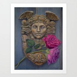 Gabriel's Door Art Print