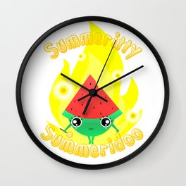 Summer pixie Wall Clock