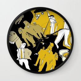Gangs of New York Wall Clock