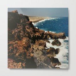 Aruba dream beach Metal Print