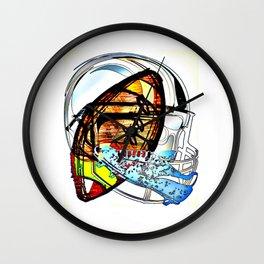 Cabsink16DesignerPatternFBG Wall Clock