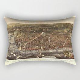 Brooklyn 1879 Rectangular Pillow