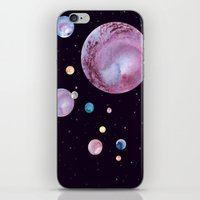 planets iPhone & iPod Skins featuring Planets by Suky Goodfellow