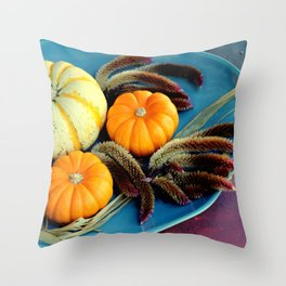 Cut And Dried... Throw Pillow