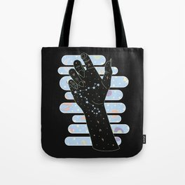 Pisces Illustration Tote Bag