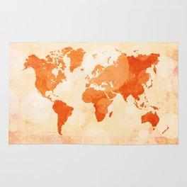 Bokeh world map Rug