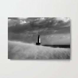 Sand Storm Metal Print