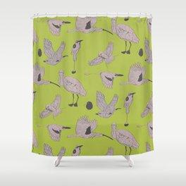 the BYrdZ: kiwi Shower Curtain