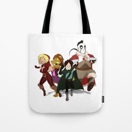 """""""Run Away!"""" - Dungeons & Doritos Tote Bag"""