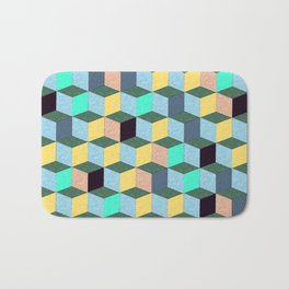 Cubic Plaything Bath Mat