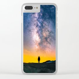 Heavens Above Clear iPhone Case