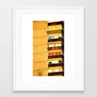building Framed Art Prints featuring Building by Rivière