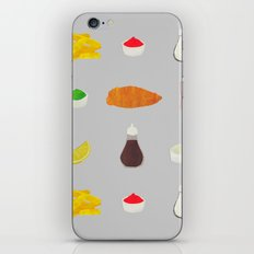 Fish & Chips iPhone & iPod Skin