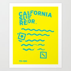 CSR/7-10 Art Print