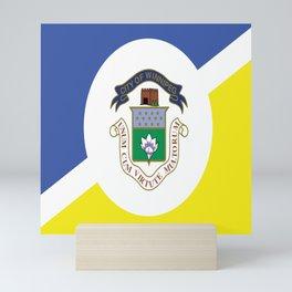 flag of winnipeg Mini Art Print