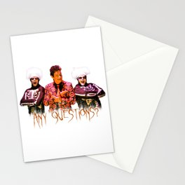 David S. Pumpkins - Any Questions? Stationery Cards