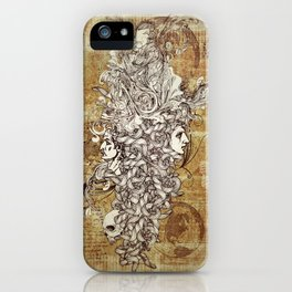 Human Rebirth iPhone Case