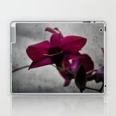 Orchid on Charcoal Laptop & iPad Skin