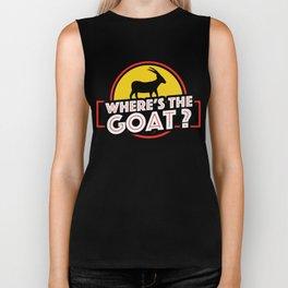Where's The Goat? Biker Tank