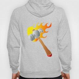 Hammer in flames Hoody