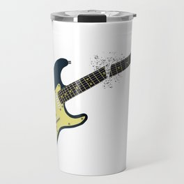 Clean Guitar Neck Break Travel Mug