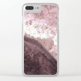 #pink #sea Clear iPhone Case