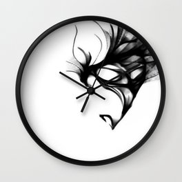 cool sketch 2 Wall Clock