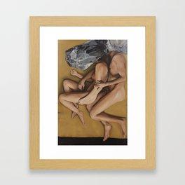Dual 2014 Oil on Canvas 130 x 200 cm Framed Art Print