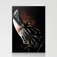 bane Stationery Cards featuring Bane by Rav Chaggar