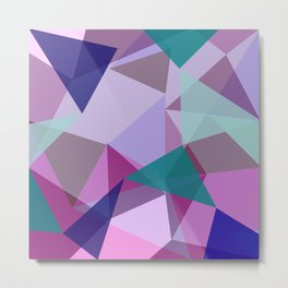 Geometric 2.1 Metal Print