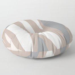 Scandinavian organic abstract Floor Pillow