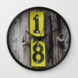 Forever 18  Wall Clock