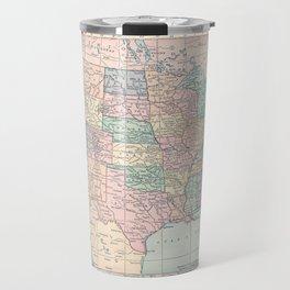 United States Map Travel Mug