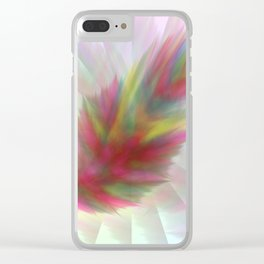 Colourfeather Clear iPhone Case