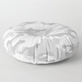 Snow Camo Floor Pillow