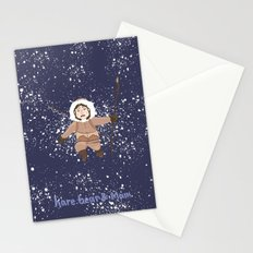 Hare, Bear & Manu  Stationery Cards
